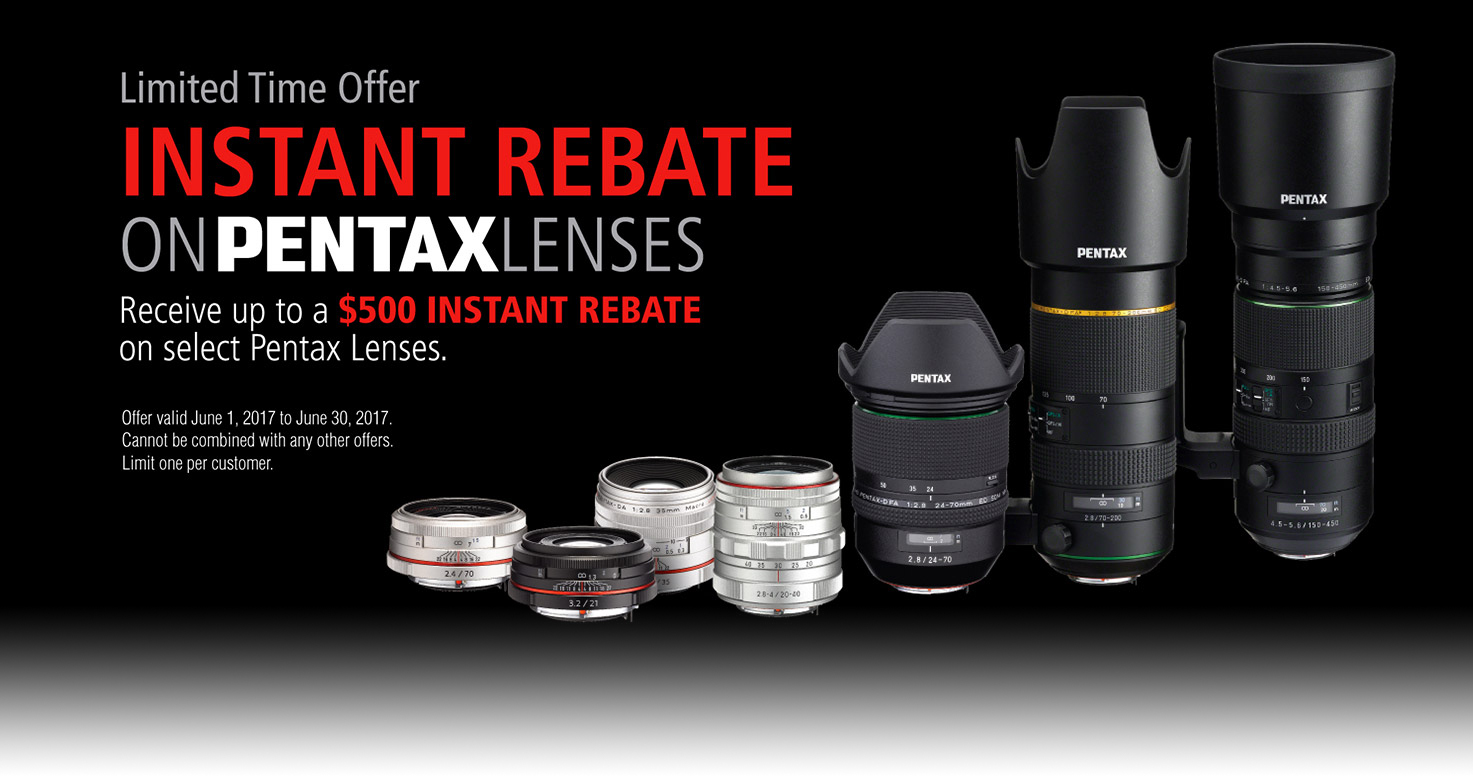 Limited Offer on Lenses